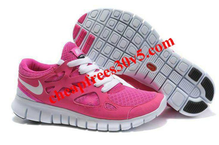 Nike Free Run 2 Pink White Women's Running Shoes