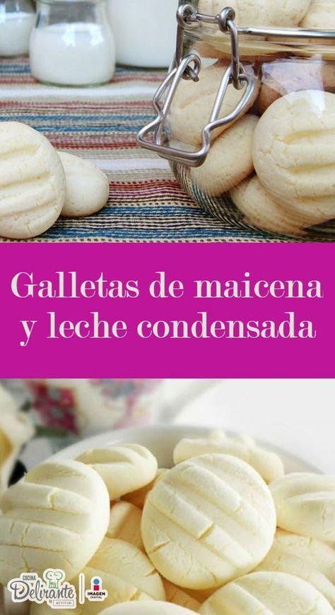 receta de galletas de maicena y leche condensada | CocinaDelirante