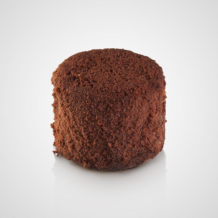 Πάστα με μους σοκολάτας υγείας με επικάλυψη γκανάζ σοκολάτας γάλακτος και υγείας και τριμμένο μπισκότο