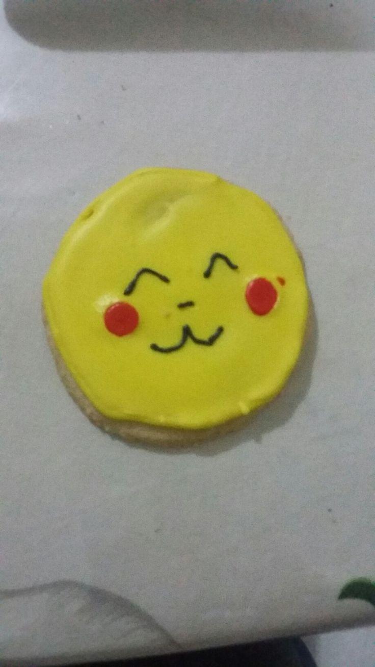 Galleta pokemon pikachu