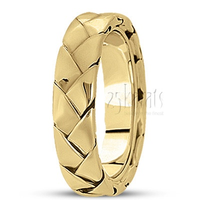 Nice Bestseller Shiny Hand Braided Wedding Ring Wedding Band weddingband ring karats