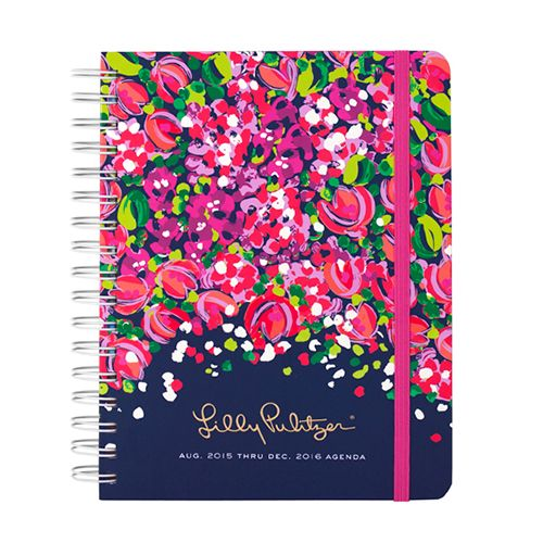 2015 2016 Lilly Pulitzer Large Agenda
