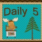 Daily 5 signs.  Can be used in grade levels k-4.  Daily 5 is a registerd trademark of the Two Sisters....