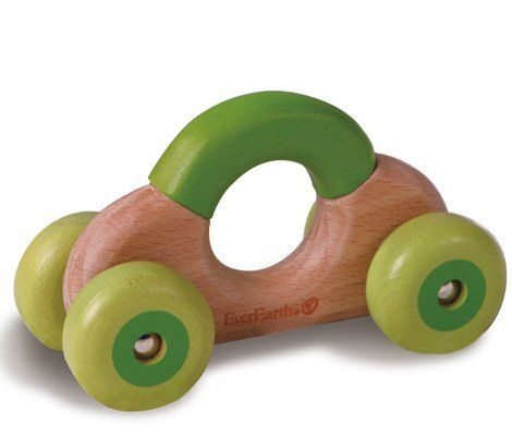 EVEREARTH Car Rattle Wooden #toys2learn #everearth #car #rattle #wooden #play #learn #toys #toy #child #childrens #kids #toddler