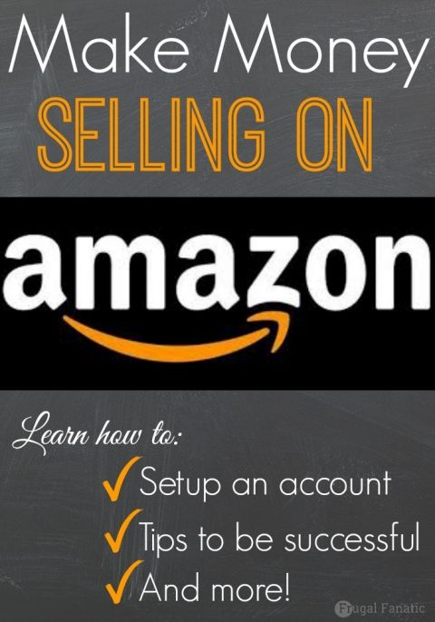 Did you know that you can make money selling on Amazon? Most people only think about buying items from Amazon and not selling. Check out how you can get started selling on Amazon to make extra cash.