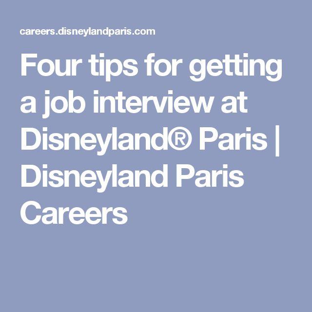 Four tips for getting a job interview at Disneyland® Paris | Disneyland Paris Careers