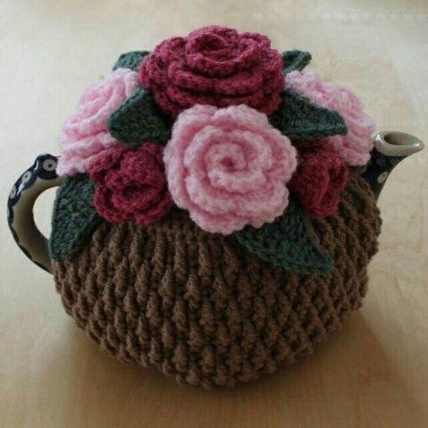грелка на чайник крючком со схемами