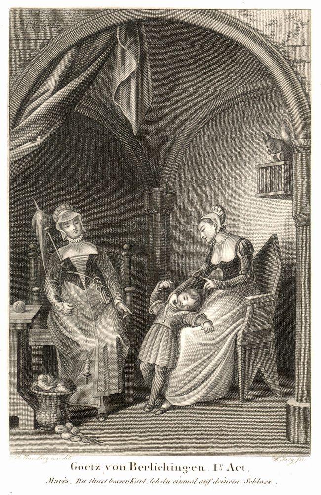Scene Uit Gotz Von Berlichingen Literatuur