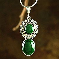 Malachite I also love the Malachite Jewelry I used to have both it and Turquoise which were stolen from me.