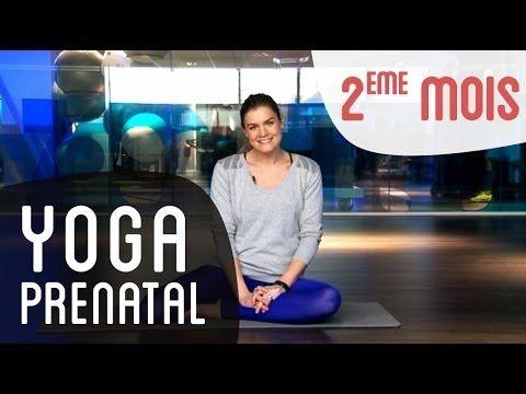 Yoga prénatal : 2ème mois de grossesse - YouTube