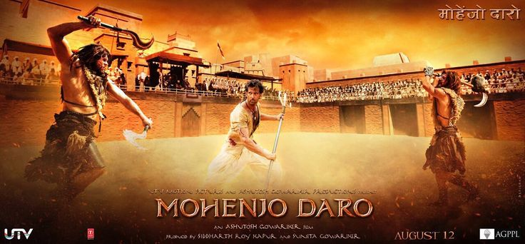 New Action Poster Look of Mohenjo Daro Movie Unveiled just now.