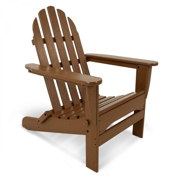 polywood classic folding adirondack chair adirondack chairs chairs - Polywood Adirondack Chairs