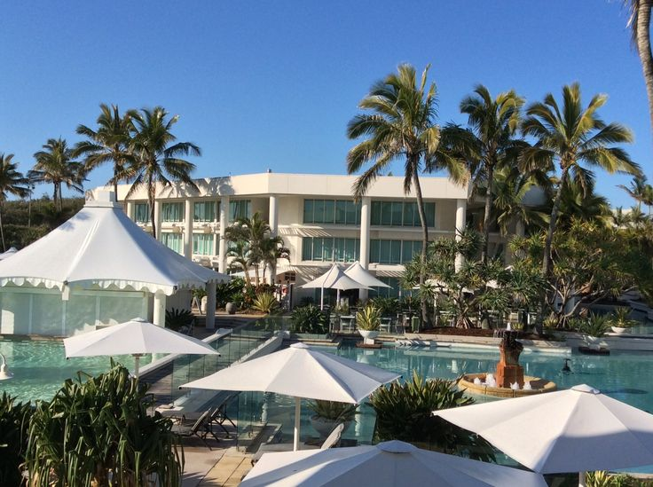The Sheraton Mirage.
