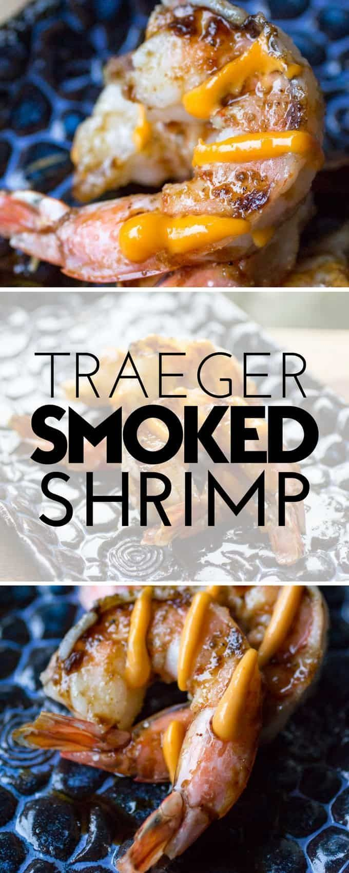 Traeger Smoked Shrimp