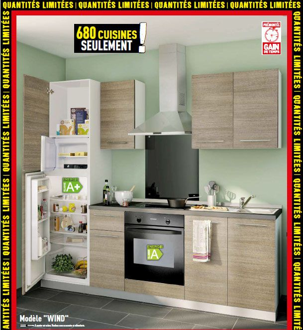 good brico depot meuble cuisine #5: meuble cuisine eden brico ... - Brico Depot Meuble De Cuisine