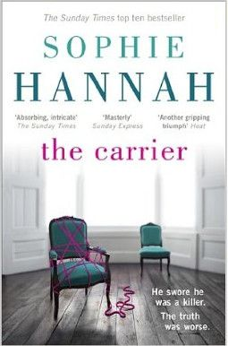 A couple of years' delay this time for some reason, and no US cover image yet ... but THE CARRIER by Sophie Hannah (Book 8 in the Spilling CID series) is *finally* coming to the States in January 2015!