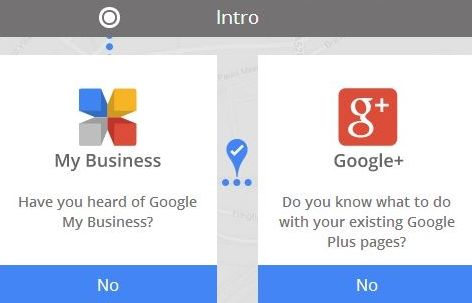 Google plus account can transfer to Google plus business page and will be able to use this service.