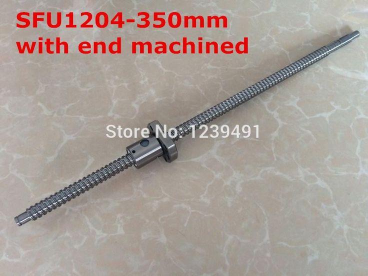31.35$ Watch now - sfu1204 rolled <b>ballscrew</b> 350mm with flange ...