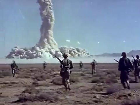 Desert Rock Nuclear Tests 1951-1957 US Army Soldiers Observe Atomic Bomb Blasts - YouTube