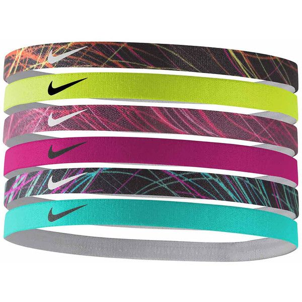 Nike Headband ($12) ❤ liked on Polyvore featuring accessories, hair accessories, nike, nike hairband, head wrap headband, hair band accessories and hair band headband
