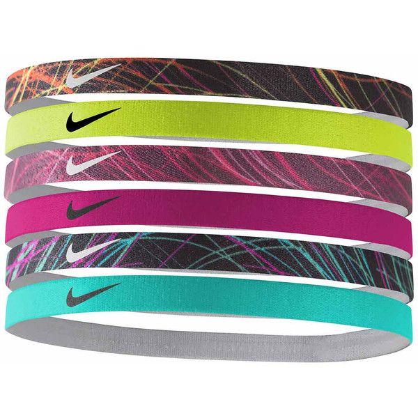 Nike Headband ($12) ❤ liked on Polyvore featuring accessories, hair accessories, nike, nike hairband, head wrap headband, hair band accessories and hair band headband