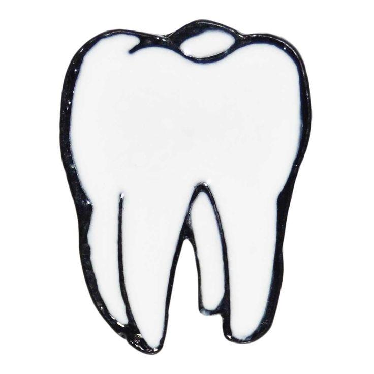 Enamel Pin - Tooth
