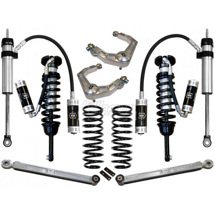 Icon Coilovers / 4th gen 4runner / Lift Kit / 2003-2009 Toyota 4runner Lift kit / #lowrangeoffroad