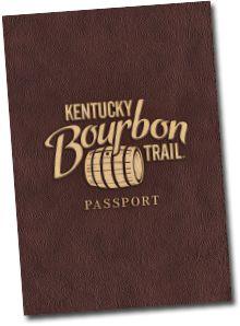 Kentucky Bourbon Trail Passport-Visit 7 Distilleries, get your passport stamped at each one, then send passport in to get your Bourbon T-shirt.  Fun!