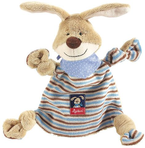 Sigikid Comforter Semmel Bunny £18.00  This sweet long eared bunny is a very special piece of cloth for the little ones to cuddle, hug and to comfort.