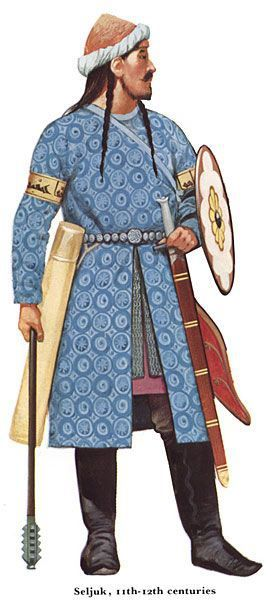 Warrior Turkish Seljuk 11 and 12th century during the Crusades