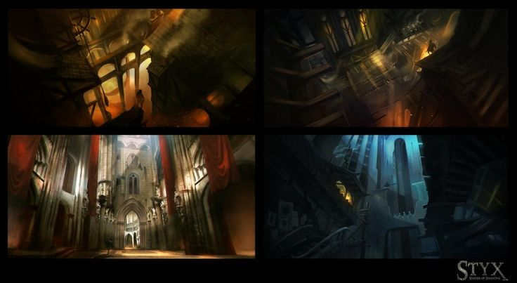Serylconcept, Styx : Master Of Shadows concept art.