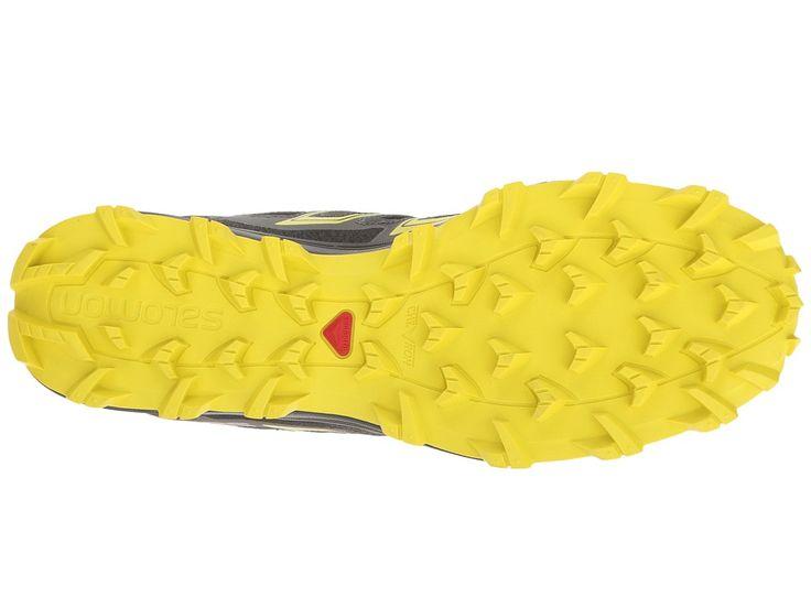 Salomon Speedtrak Men's Shoes Black/Magnet/Sulphur Spring