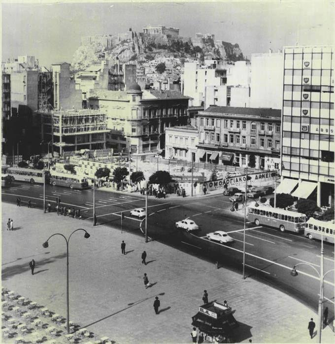 1965 ~ Syntagma square, Athens, #solebike, #Athens, #e-bike tours