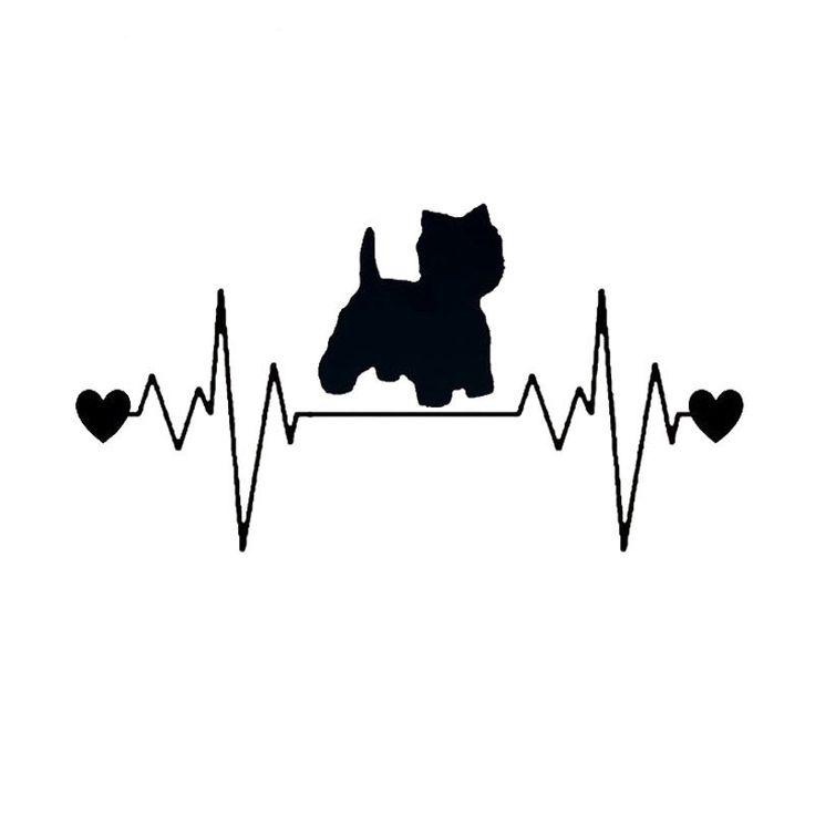 Resultado de imagen para tatuajes de patitas de perro y corazon