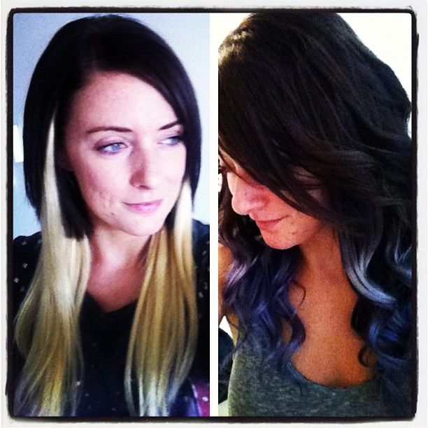 20 best my hair images on pinterest my hair halo hair styling clip in extensions in short hair hats and buns dip dye purple pmusecretfo Choice Image