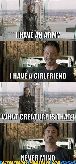 ....I always got that vibe from you, Loki....