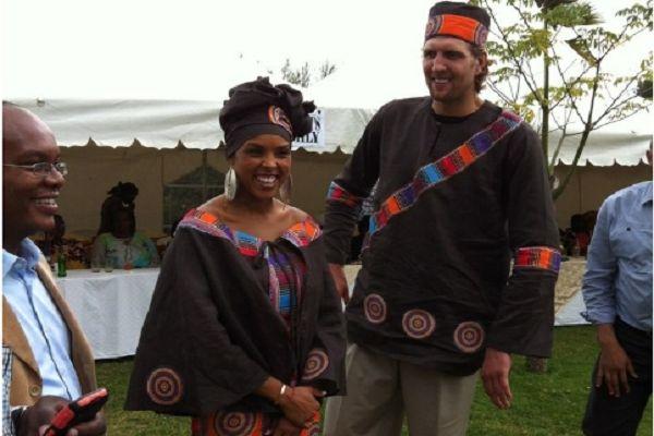 Dirk Nowitzki Marries Wife in Traditional Kenyan Ceremony