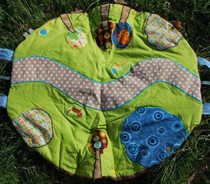 tapis d'eveil couture Aurélie 005A