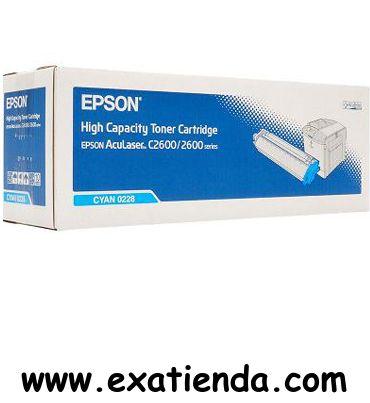 Ya disponible T?ner Epson c13s050228 cian   (por sólo 203.99 € IVA incluído):   - TONER EPSON ACULASER -Compatible con impresoras Epson aculaser:C2600N,2600DN,2600TN  -Color: Cian Garantía de fabricante  http://www.exabyteinformatica.com/tienda/3060-toner-epson-c13s050228-cian #epson #exabyteinformatica