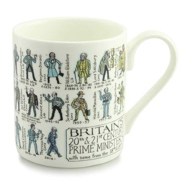 British Prime Ministers Mug 4503 British Prime Ministers MugThe Britains Prime Ministers Mug is an infographical coffee and tea cup with the British Prime Ministers printed around the cup. This brand new edition is completely up to d http://www.MightGet.com/january-2017-13/unbranded-british-prime-ministers-mug-4503.asp