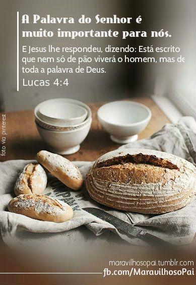E Jesus lhe respondeu, dizendo: Está escrito que...   Maravilhoso Pai