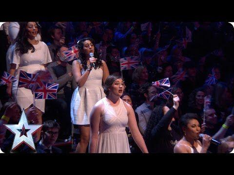 The Collaborative Orchestra & Singers take to the studio!   Semi-Final 4   Britain's Got Talent 2016 - YouTube