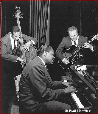 For being the greatest pianist in American's truest art form - jazz, Oscar Peterson you inspire me.