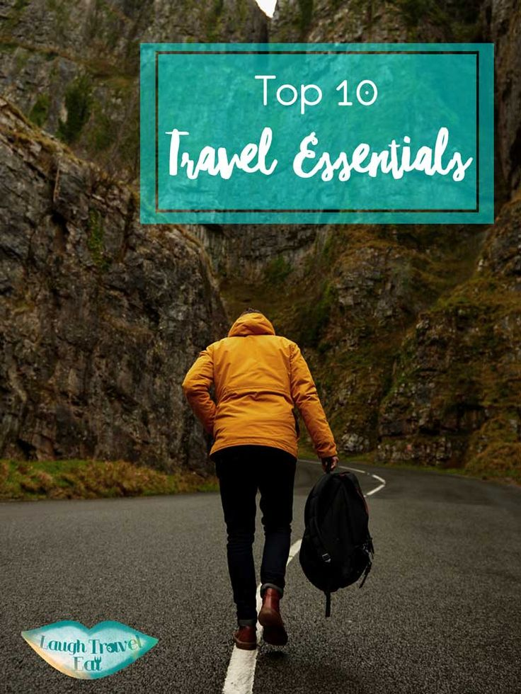 Do you have travel essentials? Here's my top 10 after over 13 years of frequent travel