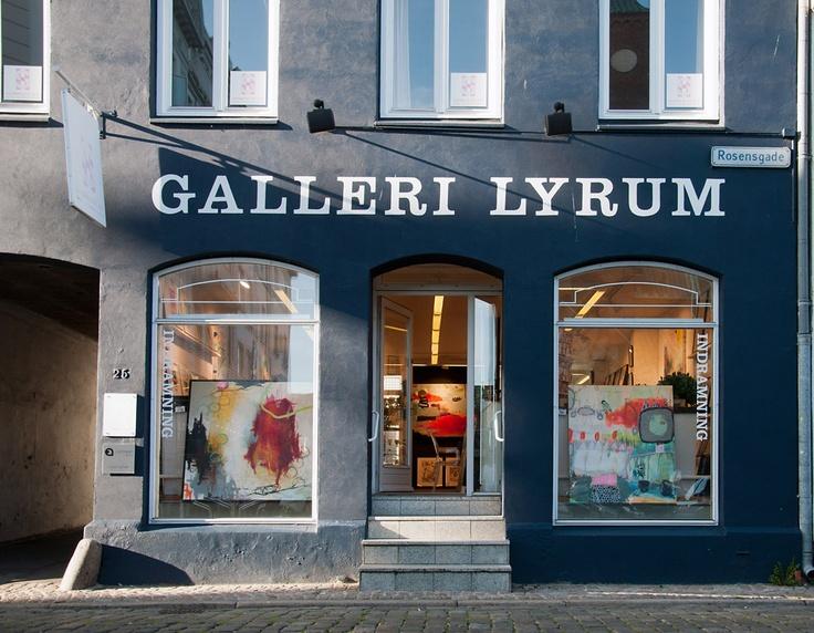 Galleri Lyrum in Århus