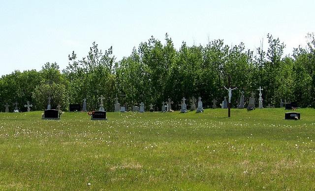 AB09f008 St. Casimir Cemetery, Mundare, Alberta 2009, via Flickr.