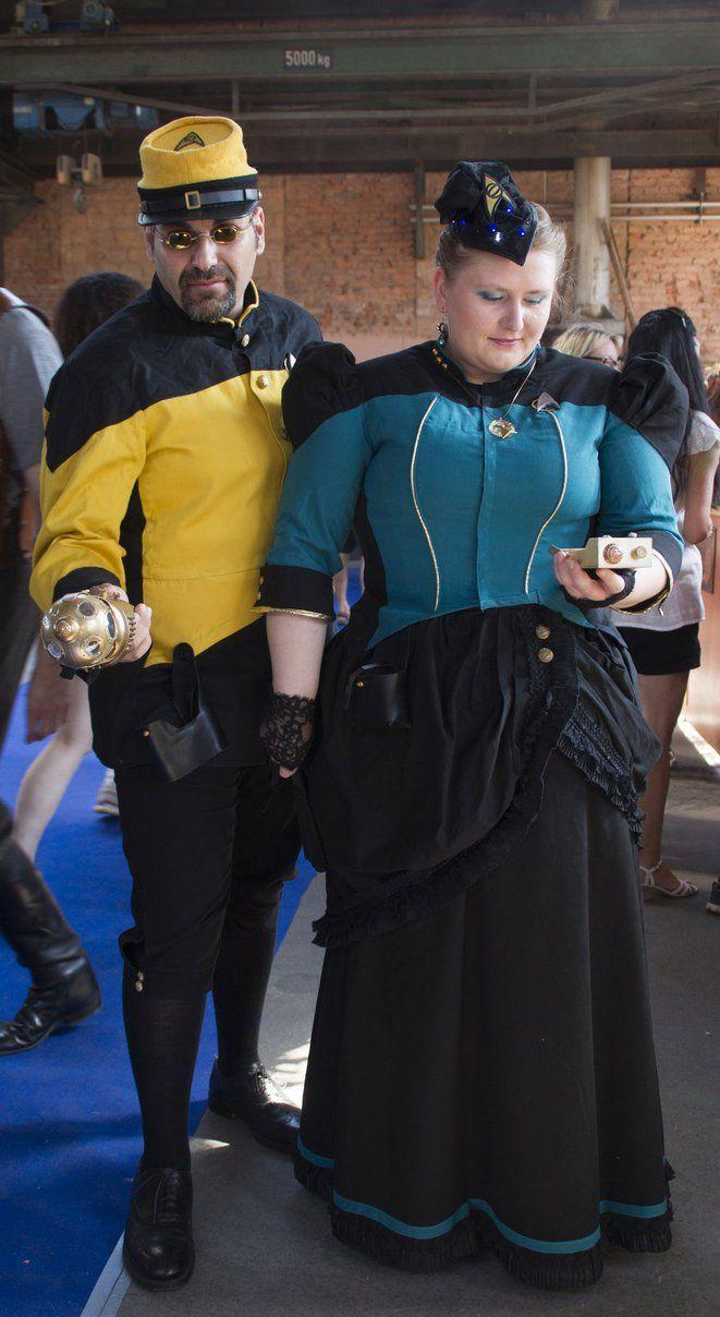 Steampunk Star Trek - Steam Trek TNG - final stage by Arsenal Best and Jules H. Aetherton