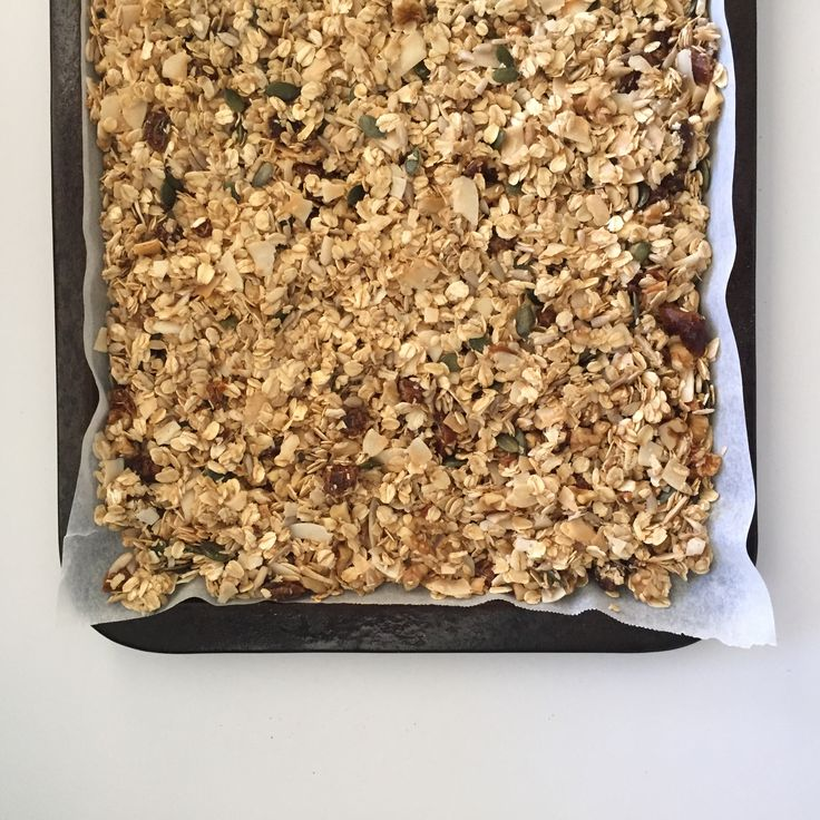 homemade granola // girl for granted
