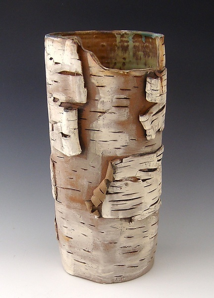 Unfurled in 2013 III: Lenore Lampi: Ceramic Vase - Artful Home
