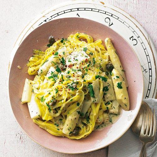 Spargel-Pasta - BRIGITTE
